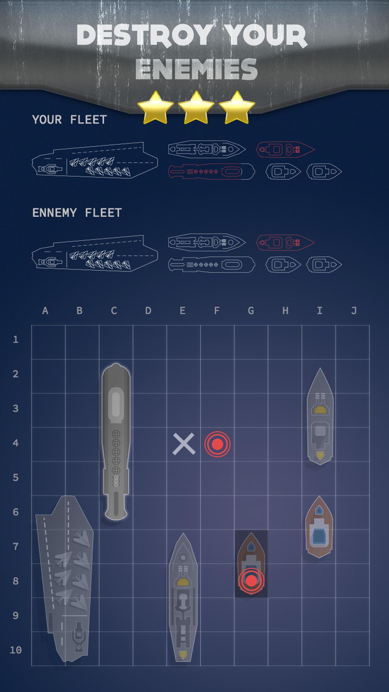 Battleship - boats war