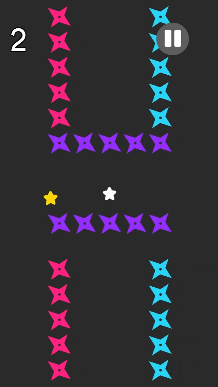 Color Fly Star