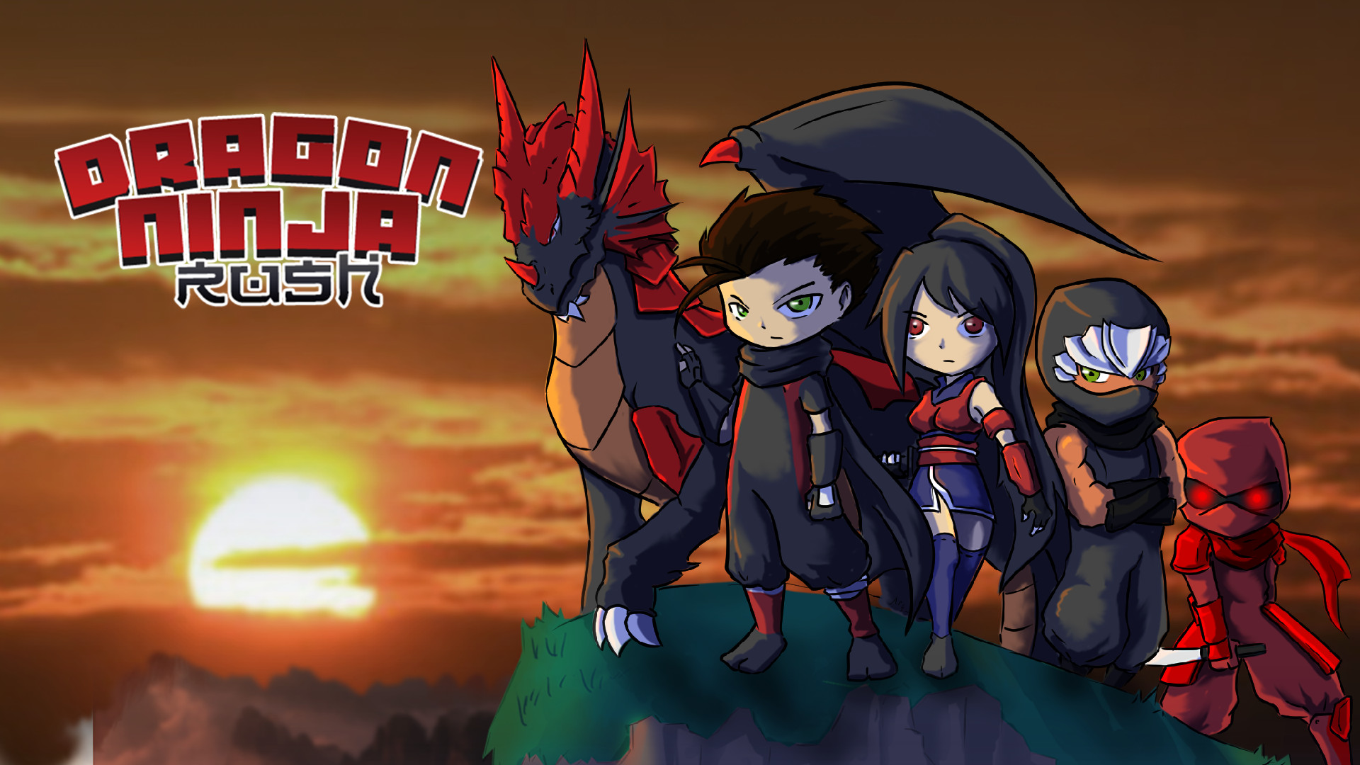 Dragon Ninja Rush