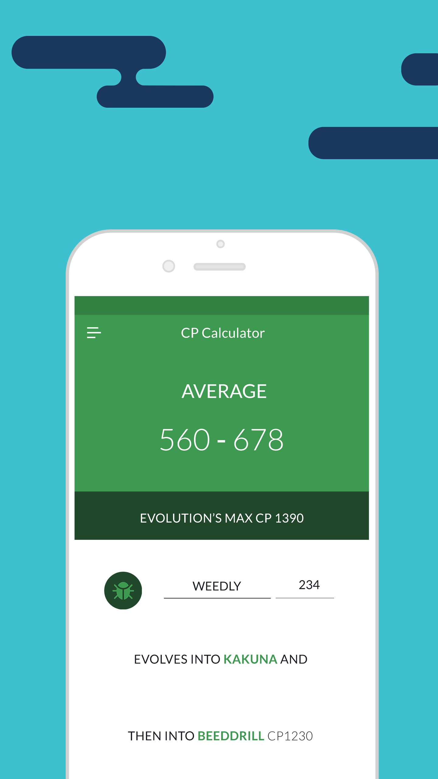 Evolution CP & IV Calculator