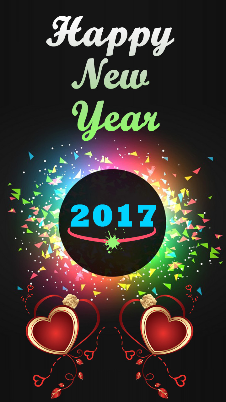 Happy New Year Photo Frames 2017