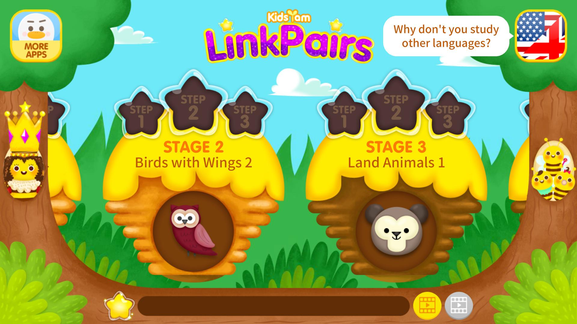 KidsYam's LinkPairs : Word Education