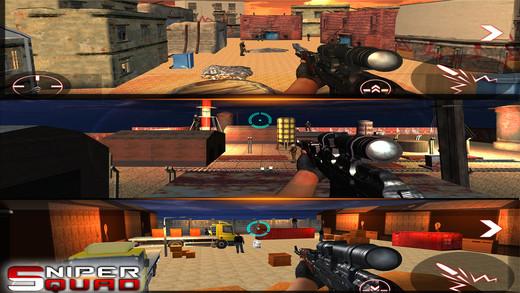 Modern Sniper Attack Squad 2017