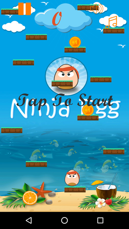 Ninja Egg Jumping Adventure