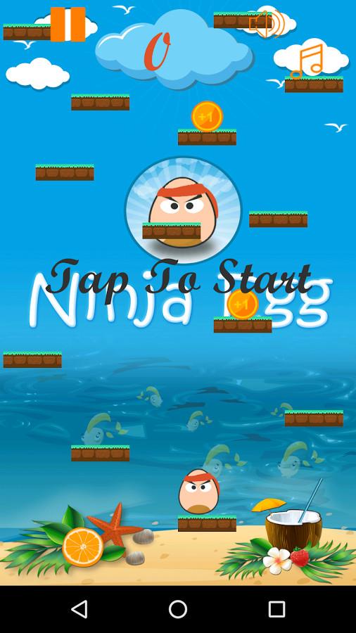 Ninja Egg Jumping Adventure