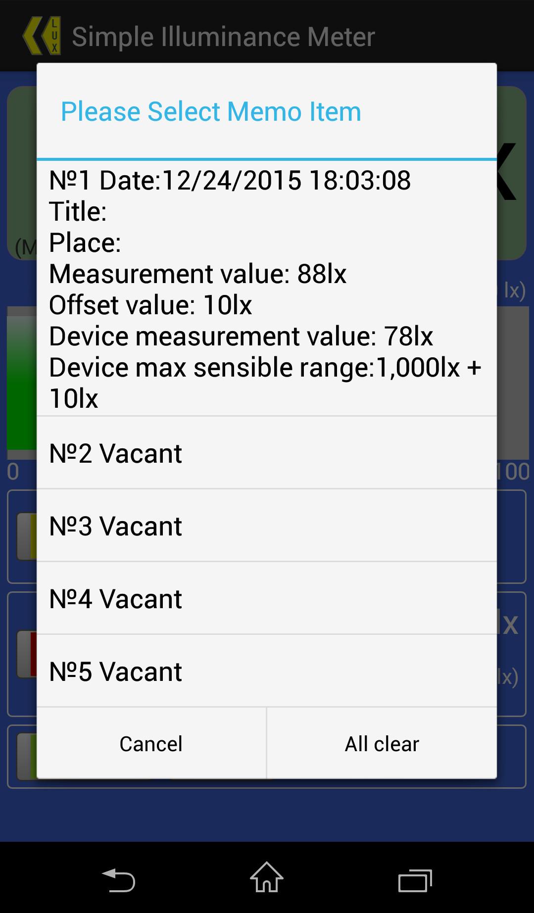 Simple Illuminance Meter