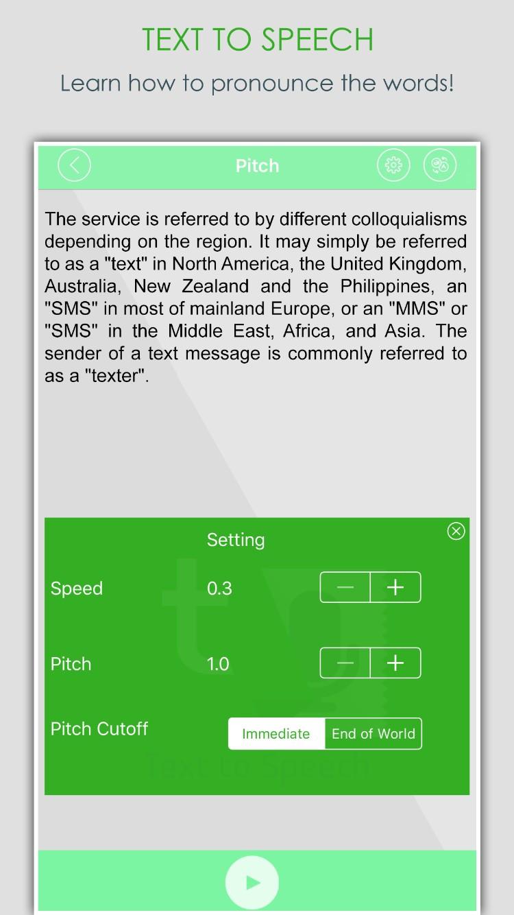 Text to Voice-Talk Free | iOS