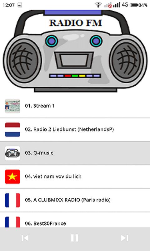 World FM Radio Sations