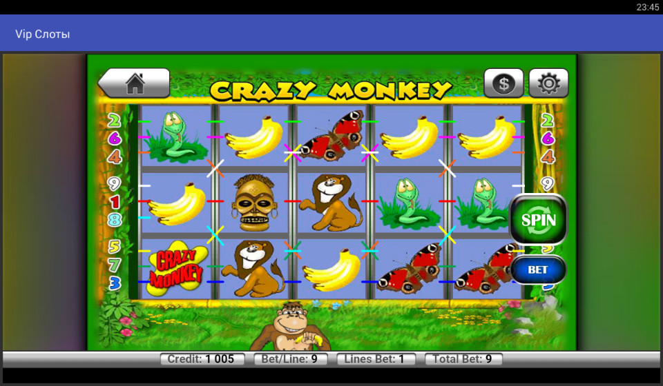 Casino: slot machines.