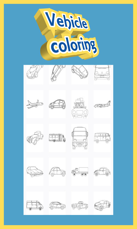 Coloring for Kid - Cars