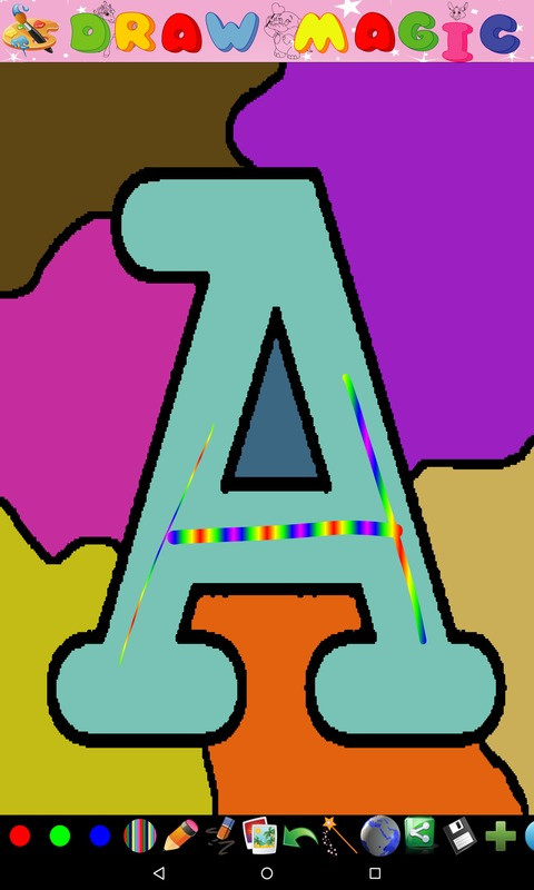 Coloring for Kids Alphabet