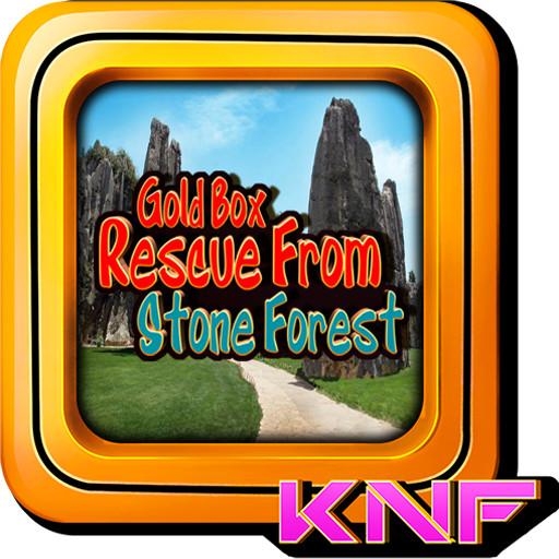 Escape Games Rescue Gold Box