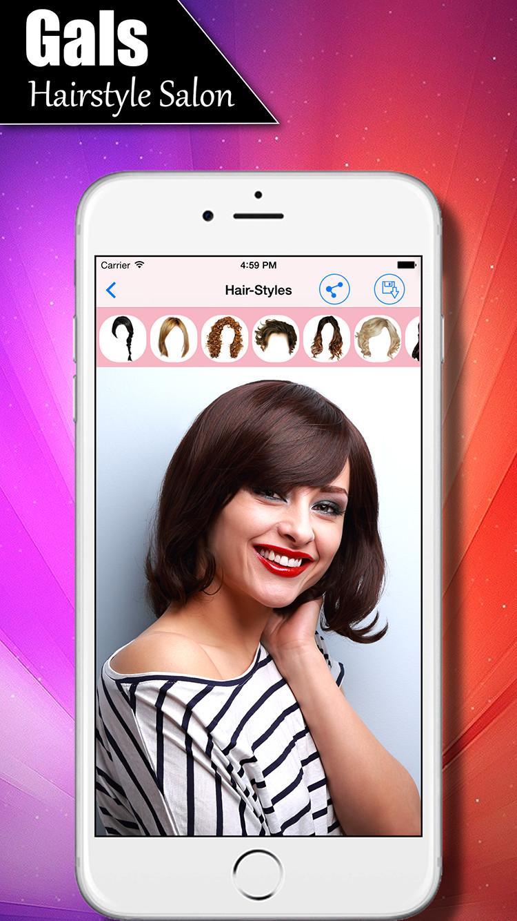 Girls Salon - Women's Fashion Hairstyles | iOS