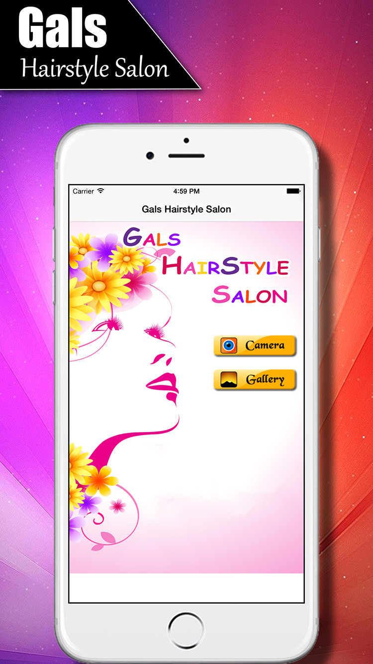 Girls Salon - Women's Fashion Hairstyles | iOS