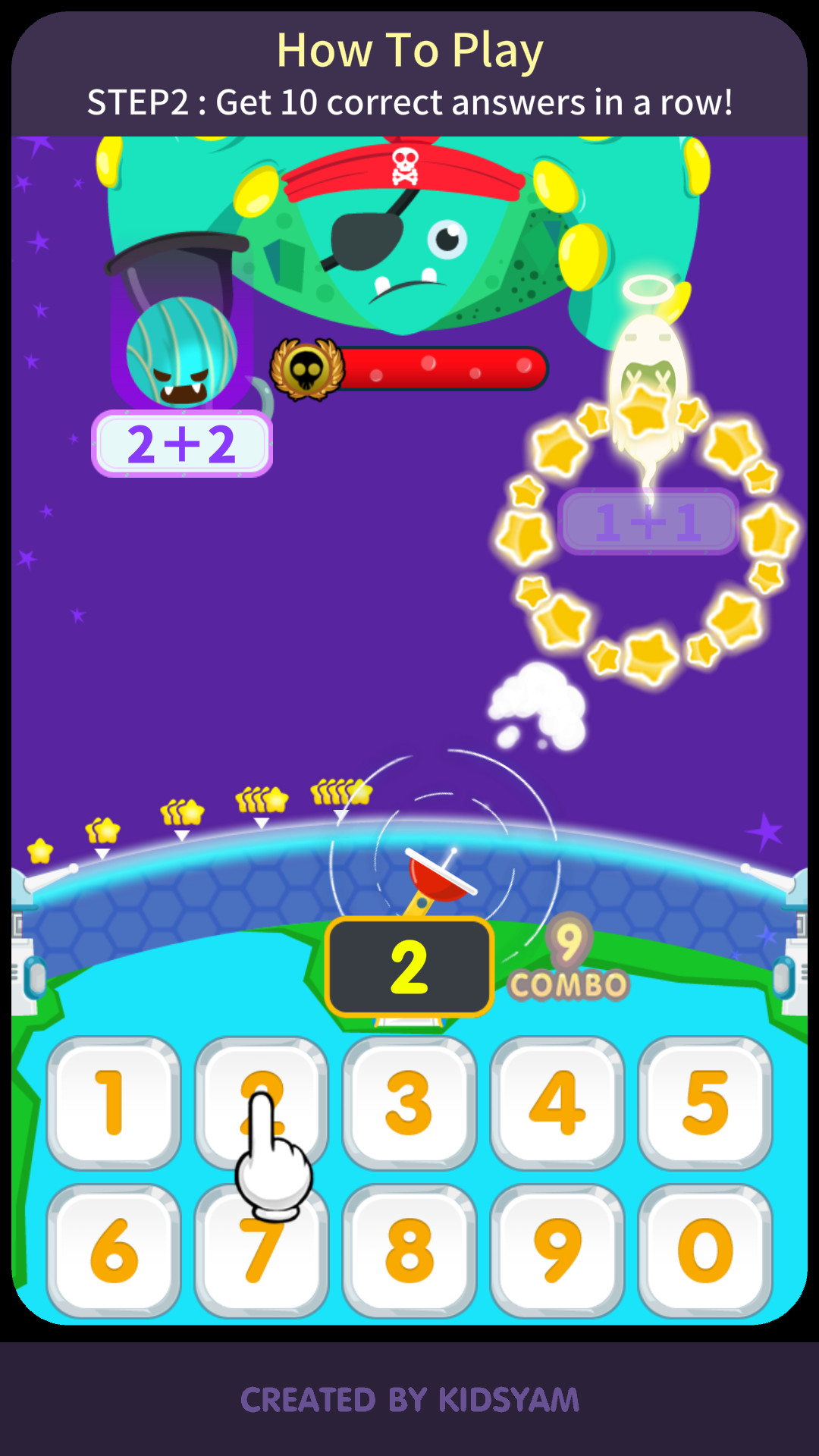 KidsYam's Math Rangers