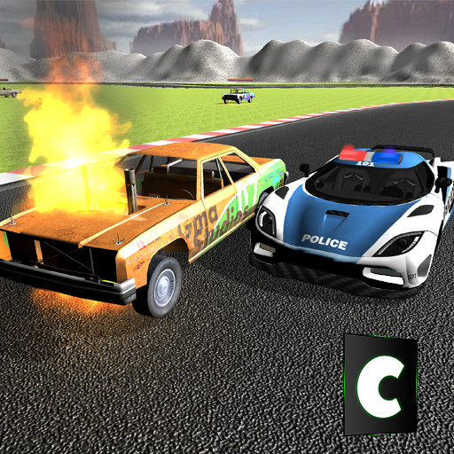 Police Car Demolition Wars 3D