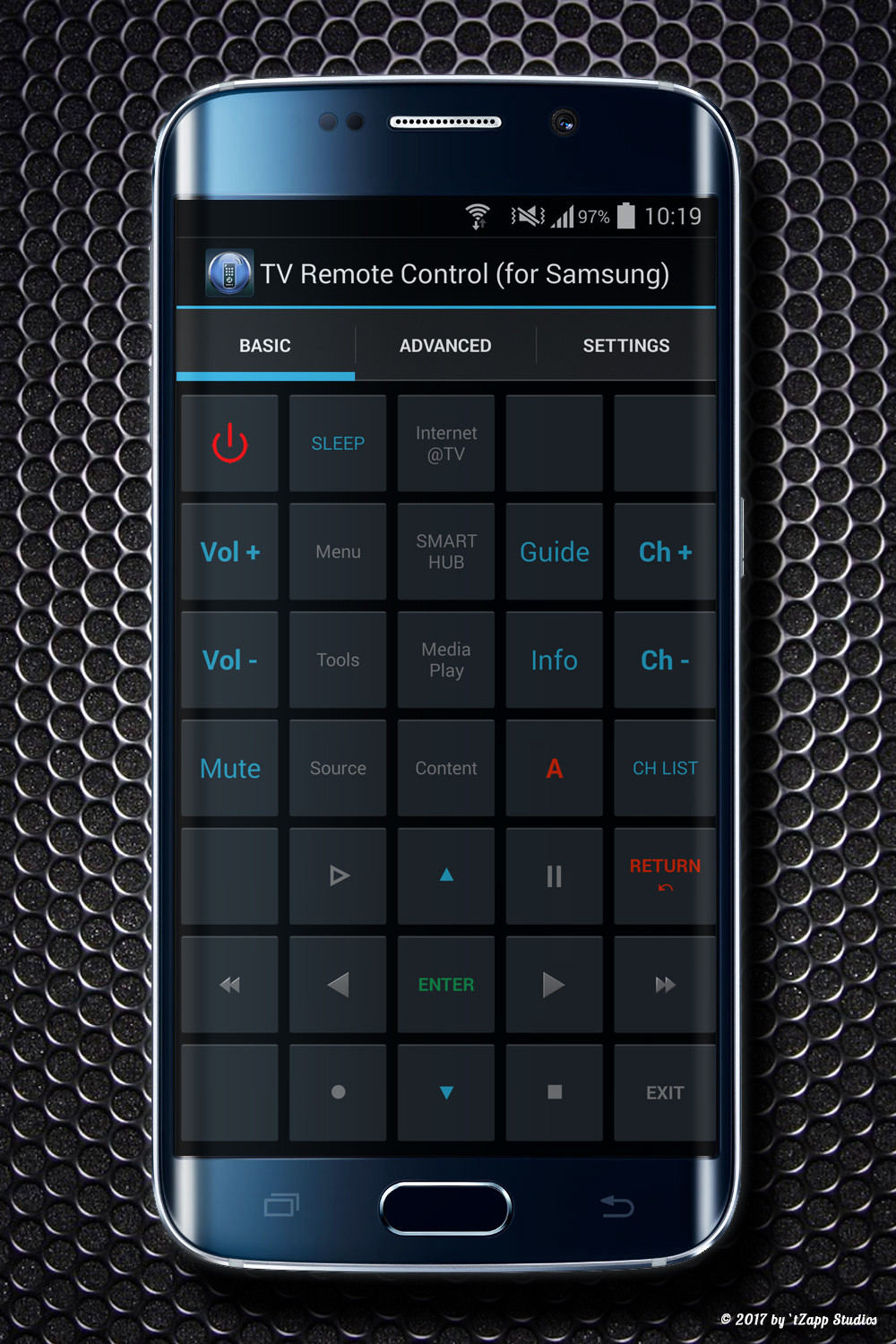 TV Remote Control (IR) for Samsung LCD, LED, QLED, Plasma