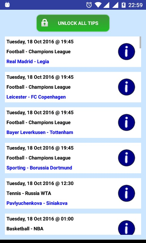 Betting Tips VIP - top sports