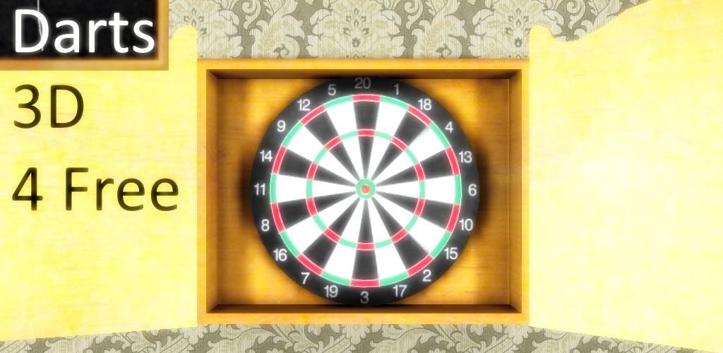 Darts 3D + Scoreboard 4 Free