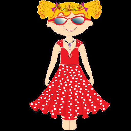 Dress up Princess for kids