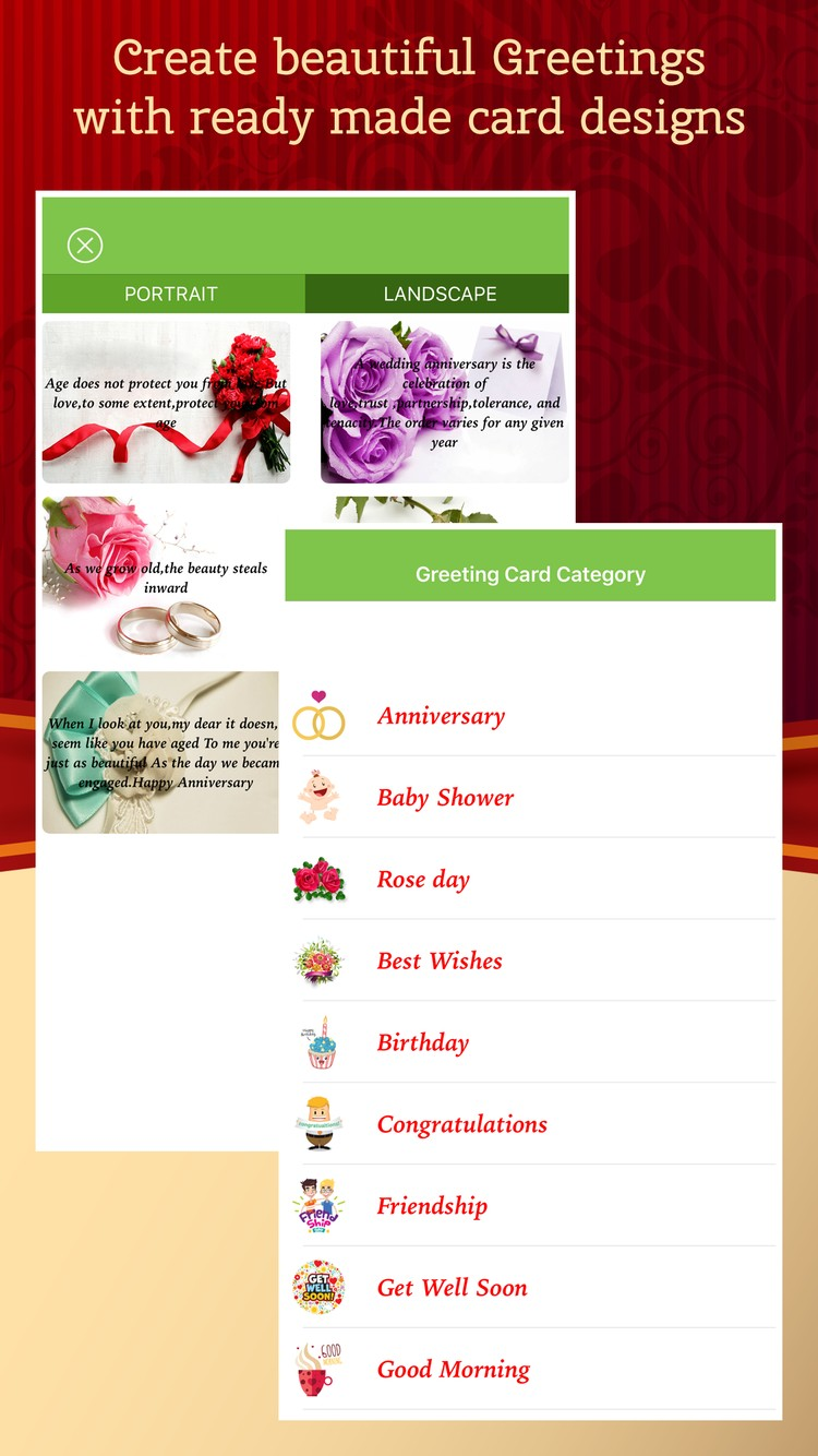 Greeting Card Maker - Make All Season Greetings