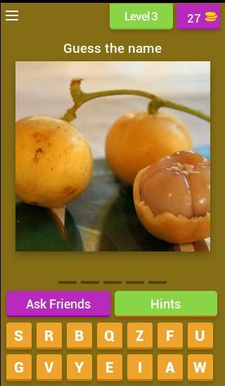 Guess a rare fruit!