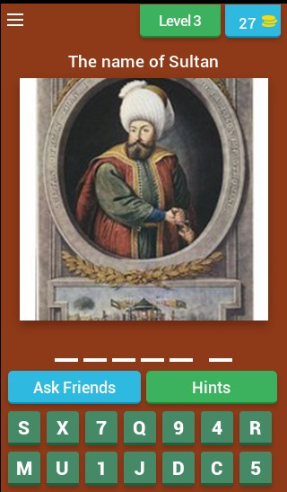 Guess the Turkish Sultan!