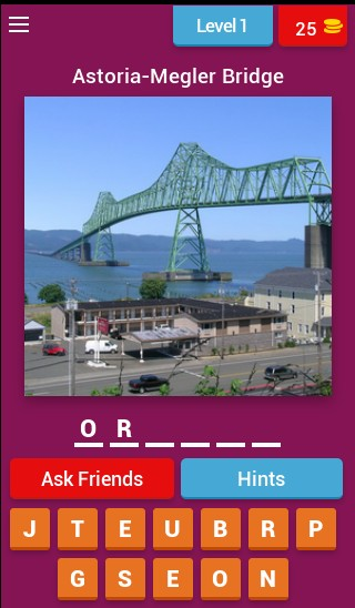 Guess the US state on the bridge!