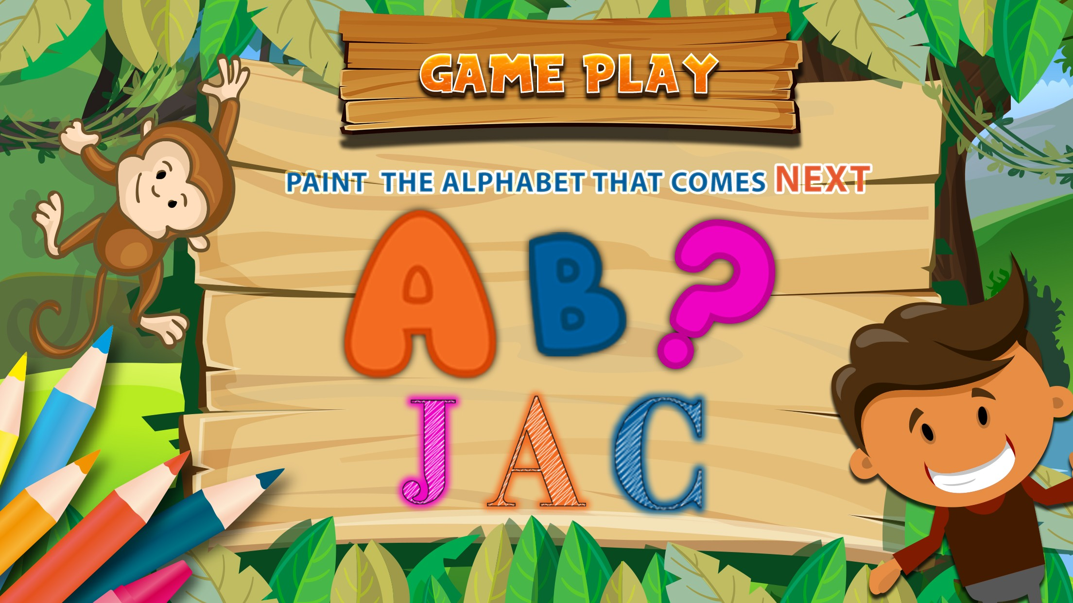 Preschool Kids Learning Game