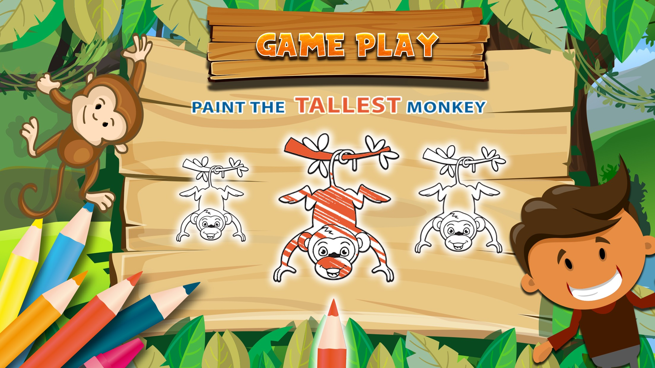 Preschool Kids Learning Game