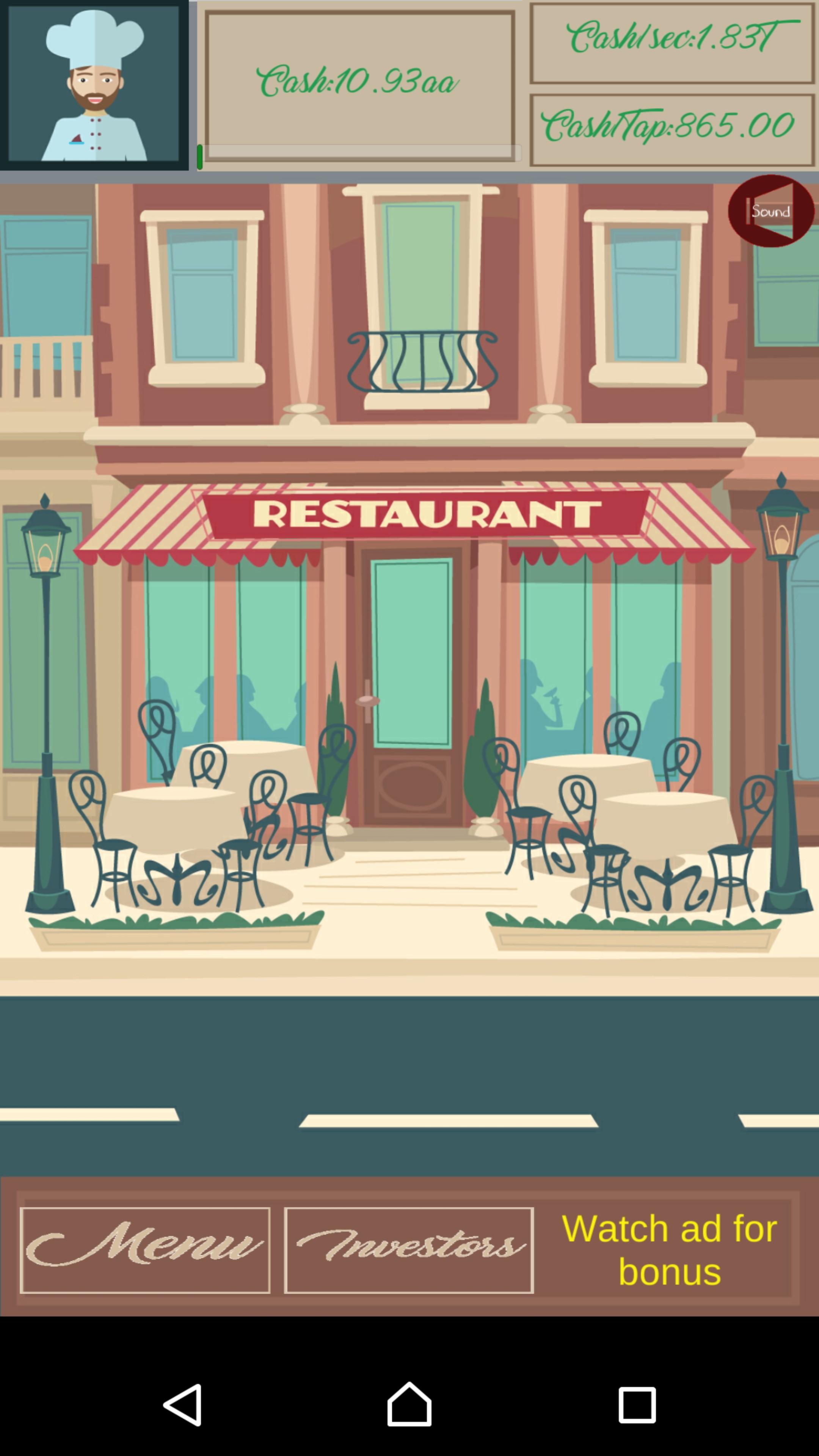Restaurant Clicker