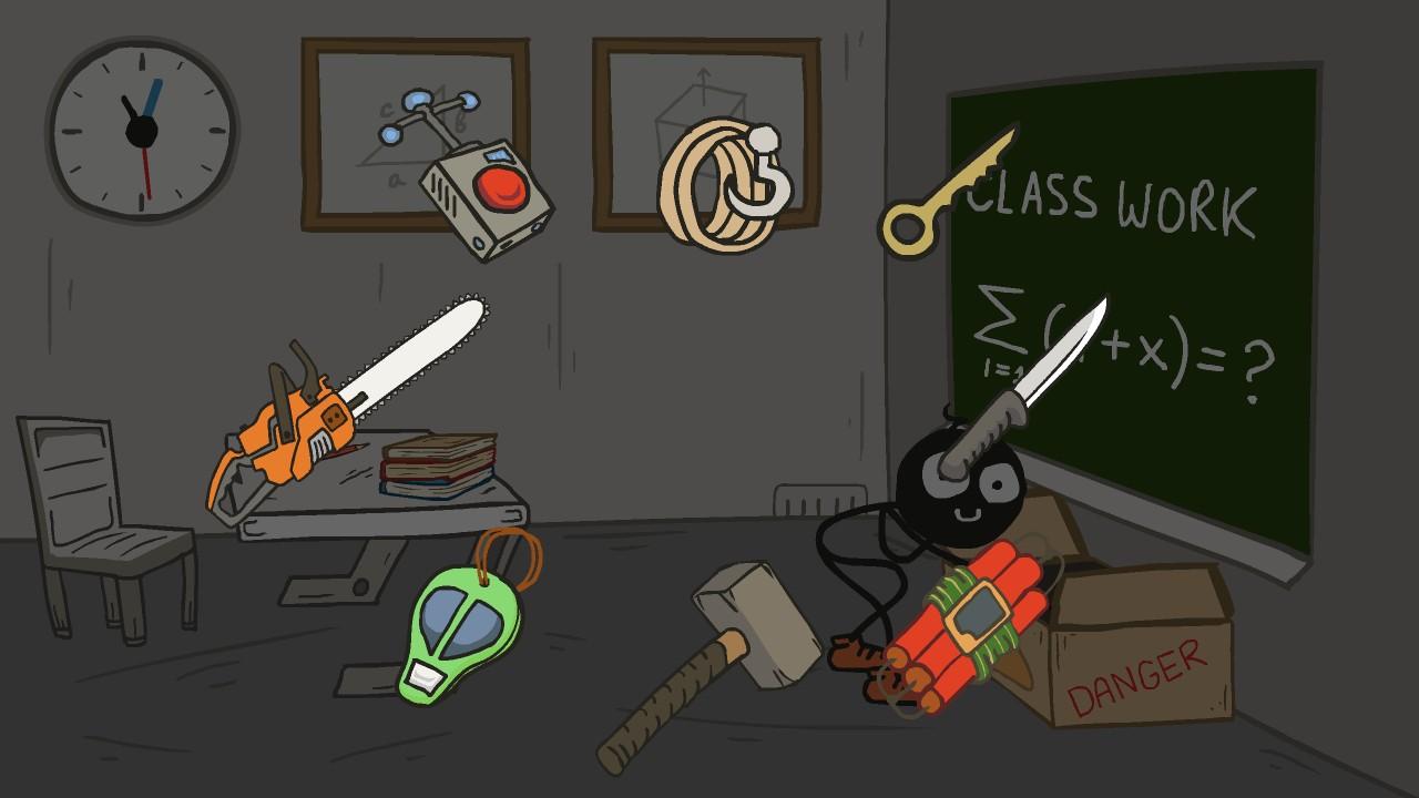 Stickman escape school