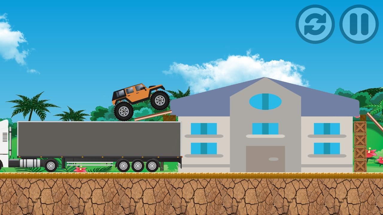 The monster truck for Truck design app