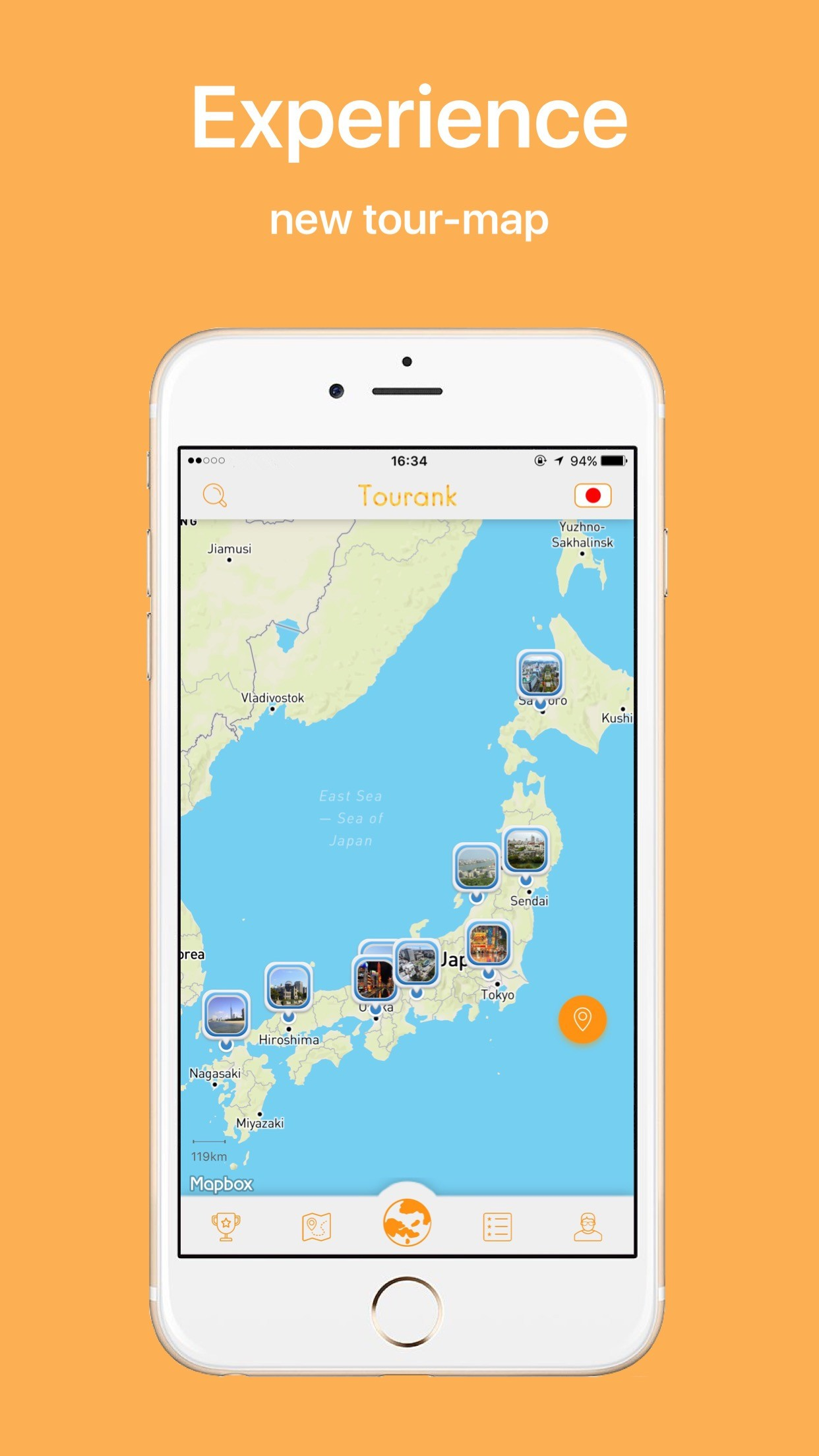 Tourank Smart Mobile Travel Guide on Japan