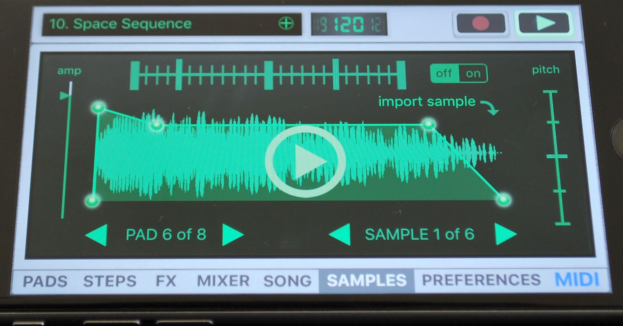 Vatanator SX – Drum Machine for iPhone