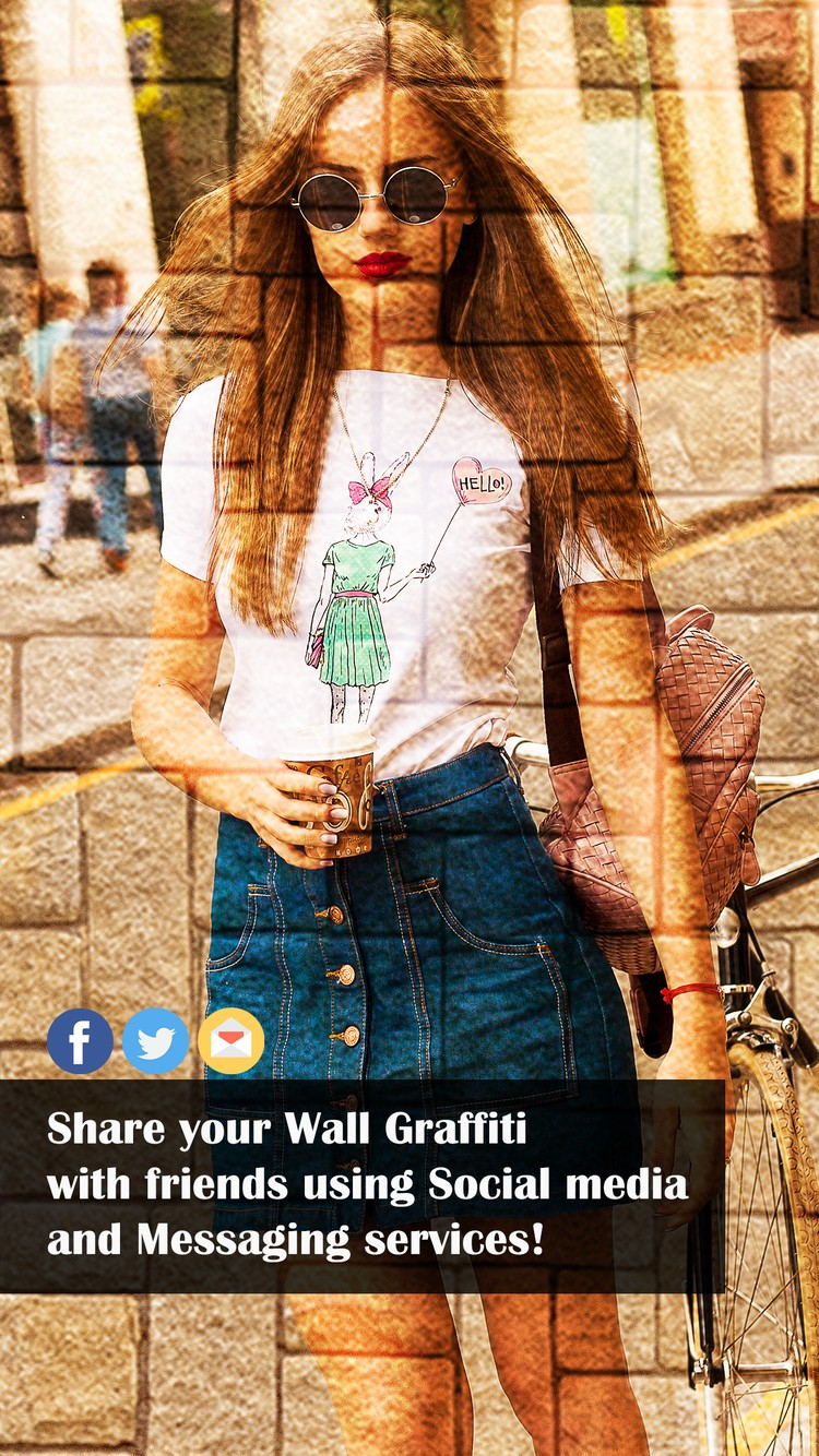 Wall Graffiti Designs -Make Wall Effect