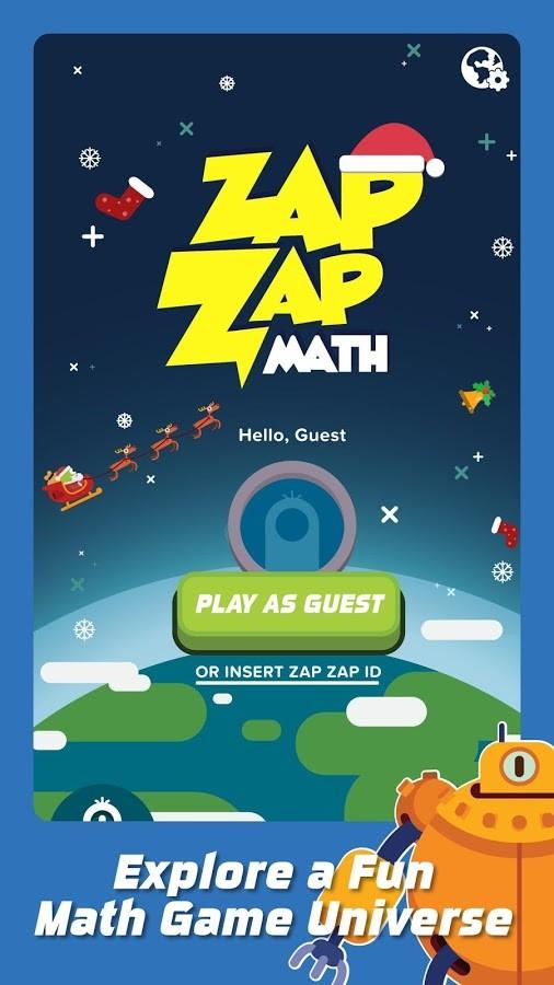 Zap Zap Math