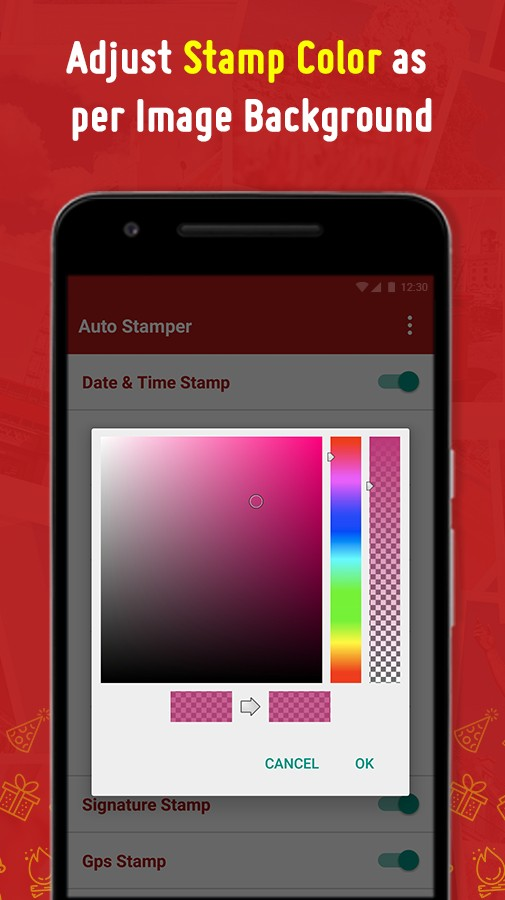 Auto Stamper for Photo