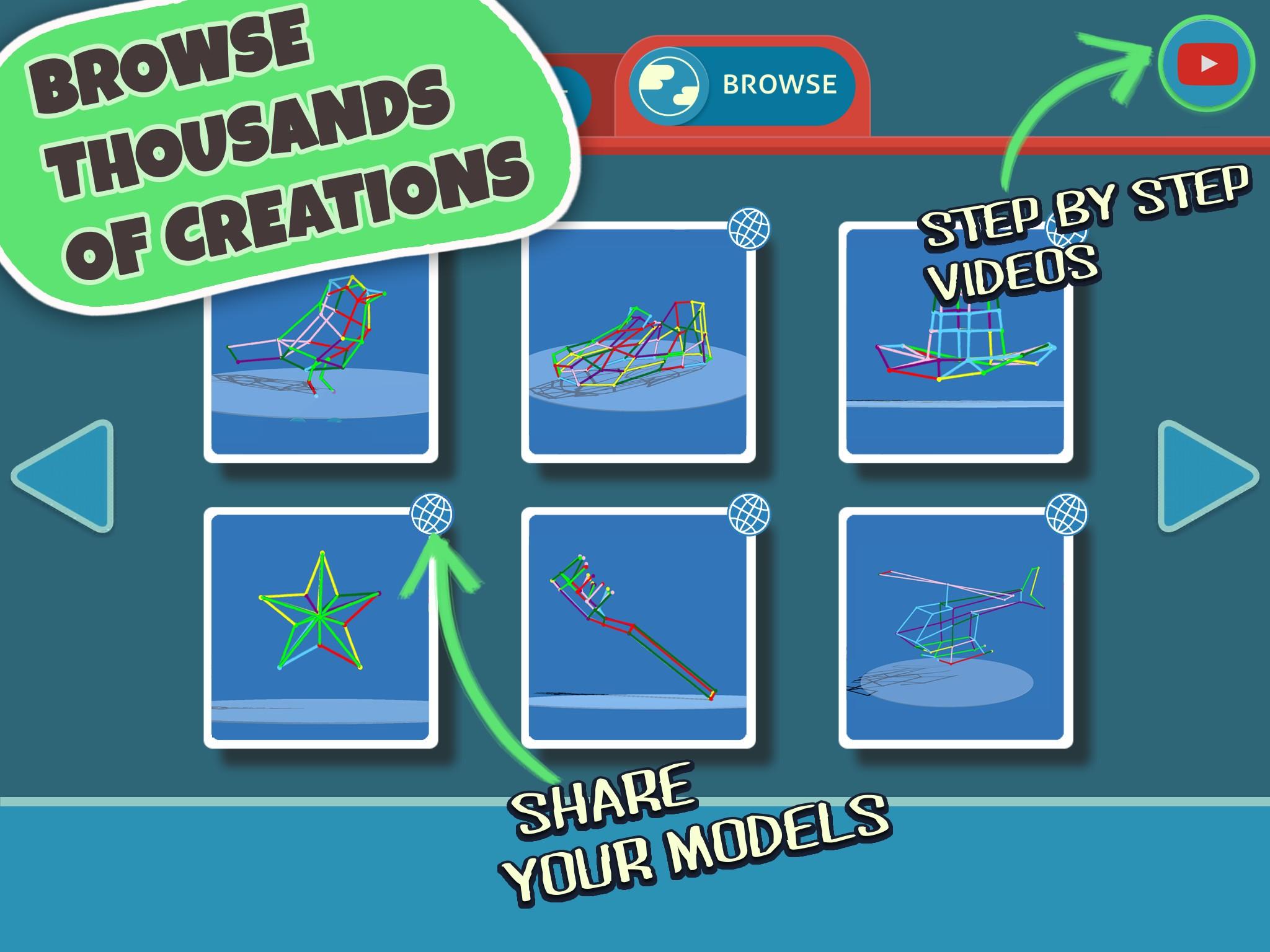 Draw 3D Junior :Learn Geometry & Create 3D Models