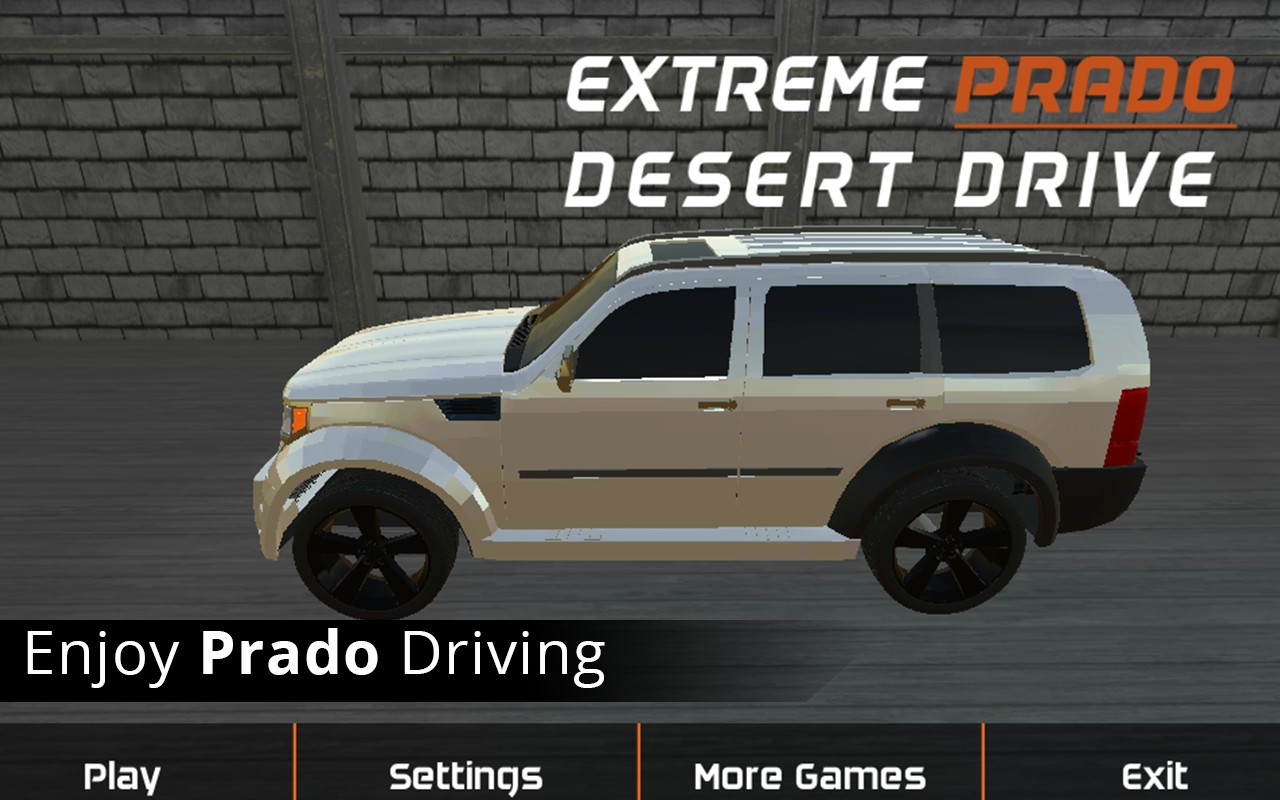 Extreme Prado Desert Drive