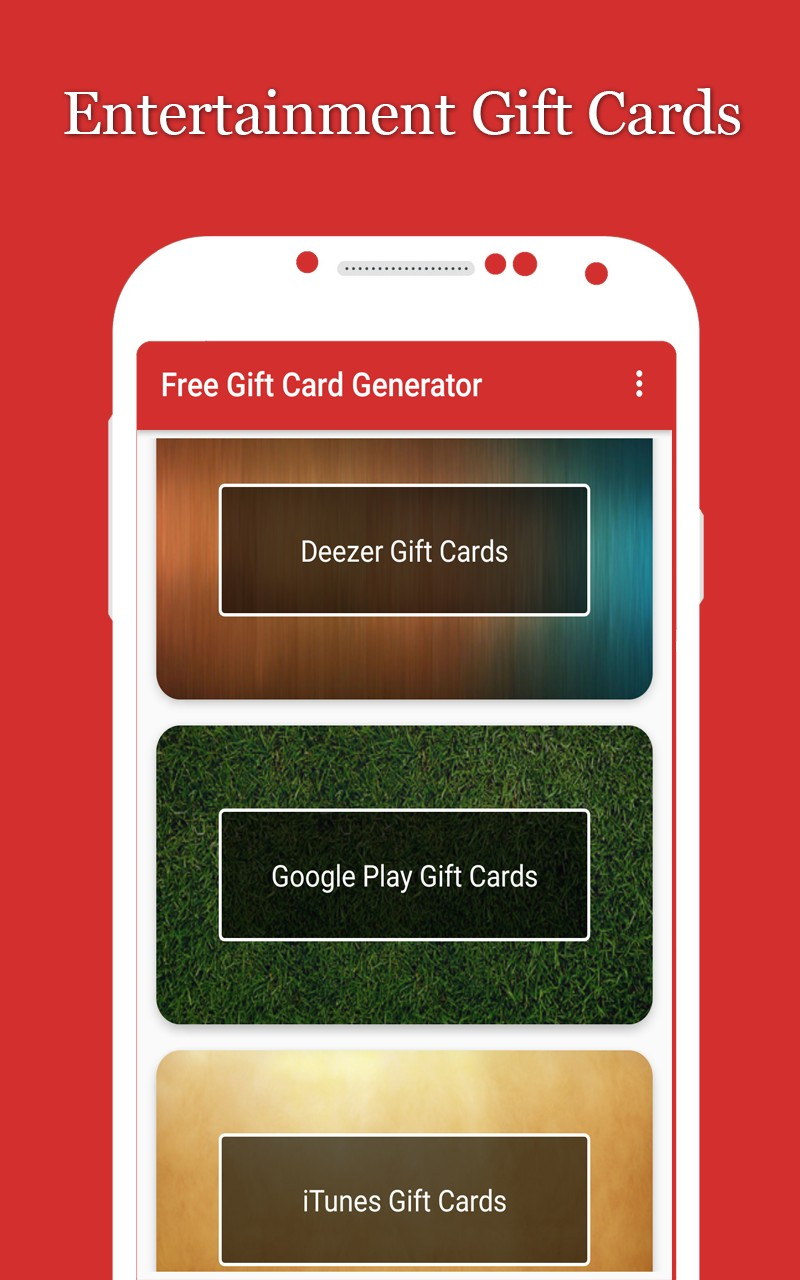 e gift card apps free gift card generator 6491