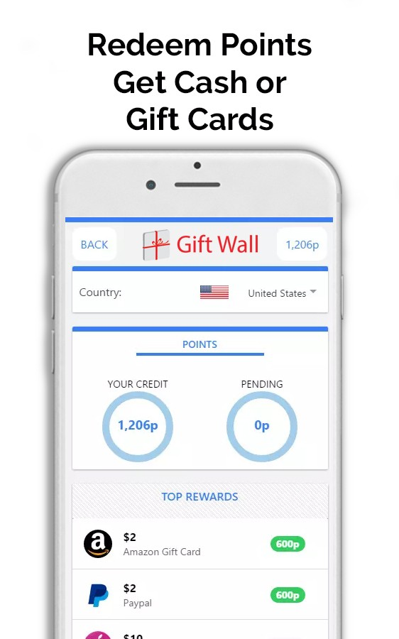GiftWall - Rewards & Gift Cards