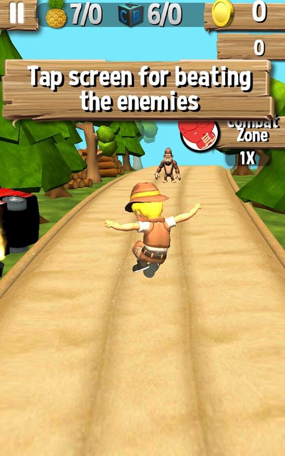 Jungle Run - Pakdam Pakdai 3D