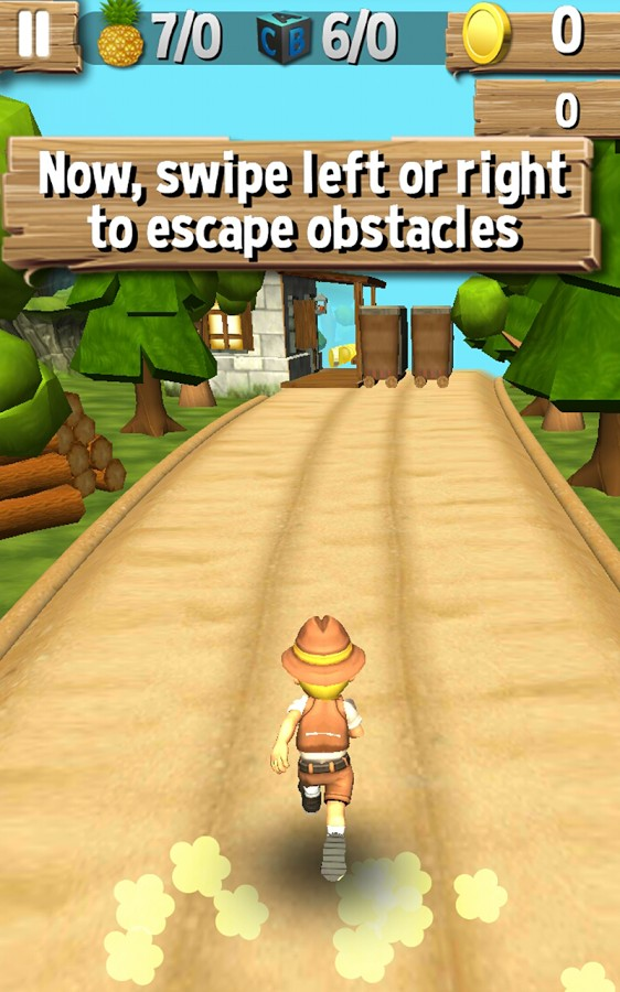Jungle Run - Pakdam Pakdai 3D