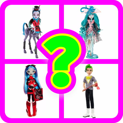 Monster High doll. Guess the name