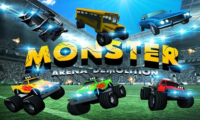 Monster Truck Arena Demolition