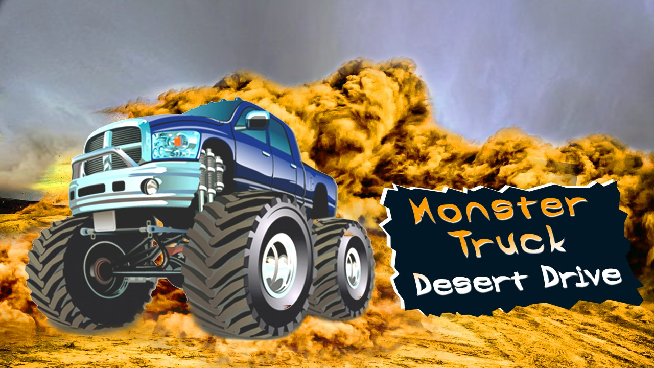 Monster Truck Desert Drive
