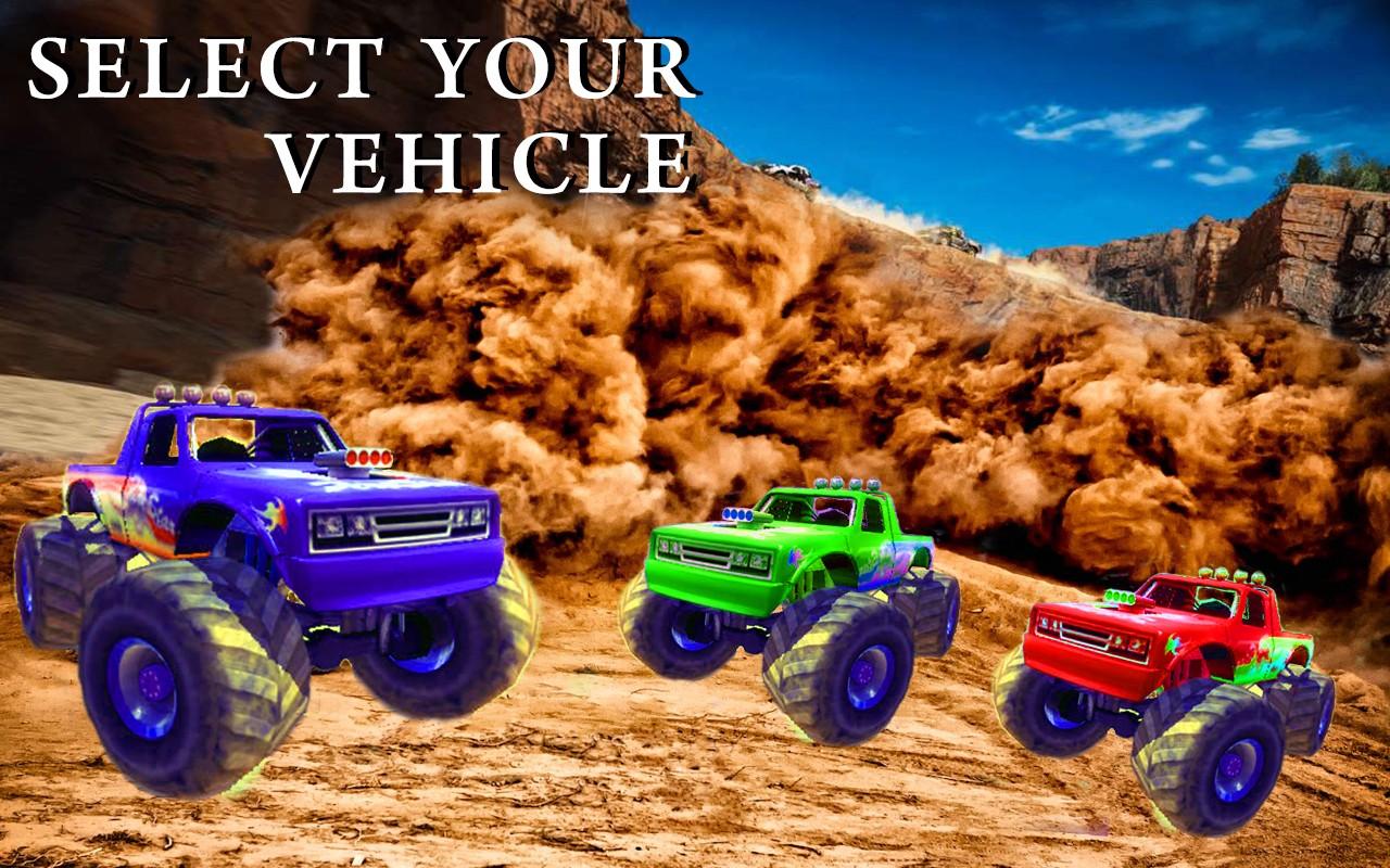 Monster Truck Desert Drive