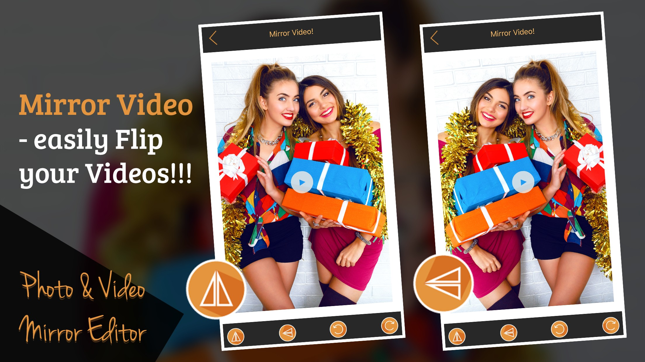 Photo and Video Mirror Editor