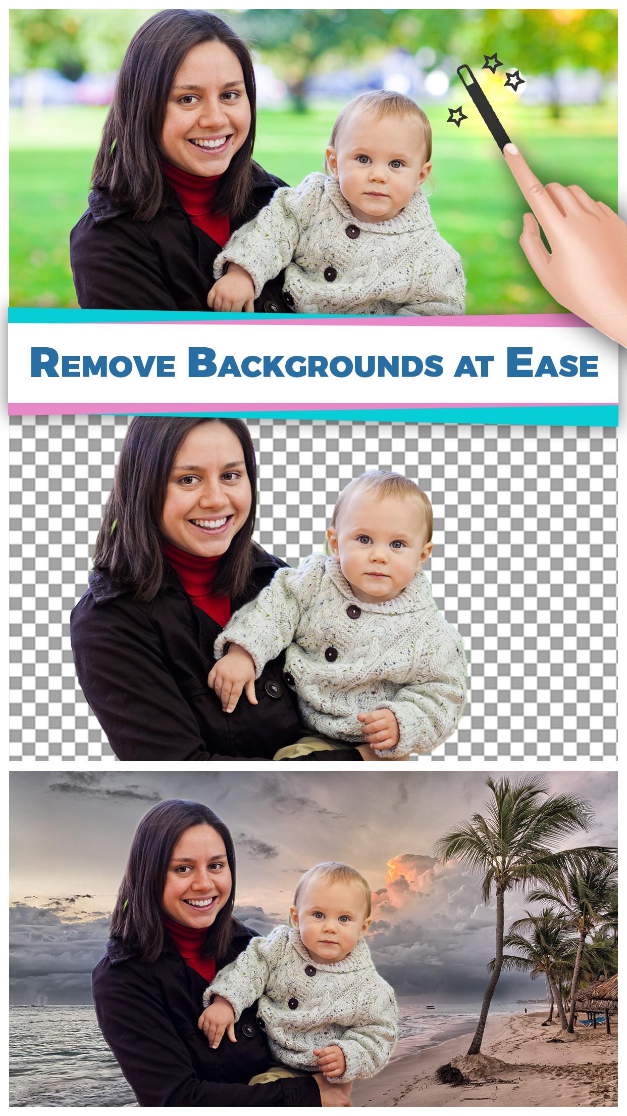 PicEraser   Photo Editor to Erase Image Background